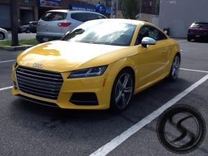 2017 Audi TT-RS Test Car